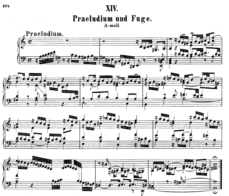 Fuge Bach